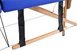 Массажный стол двух-сегментный деревянный 4 цвета, фото 9
