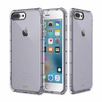 Защитный чехол для iPhone 7 Plus 8 plus  Rock Fence Series Transparent Black