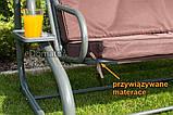 Качели садовые для 4 человек Furnide  Relax Plus, фото 8