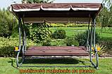 Качели садовые для 4 человек Furnide  Relax Plus, фото 9