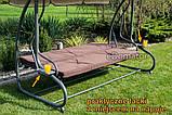 Качели садовые для 4 человек Furnide  Relax Plus, фото 10
