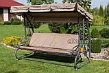Качели садовые для 4 человек Furnide Relax Plus, фото 5