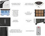 Кондиционер воздуха MalaTec ионизатор 3W1 Черный, фото 5