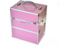 Косметический кейс NS06 pink   35 x 25 x 40 cм