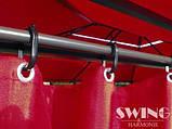 Павильон Swing & harmonie 3 х 4 м красный с LED подсветкой от солнечной батареи, фото 7