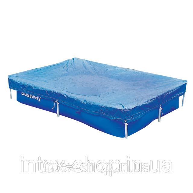 Чехол защитный для бассейна прямоугольного Bestway 58106 300 х 201 см