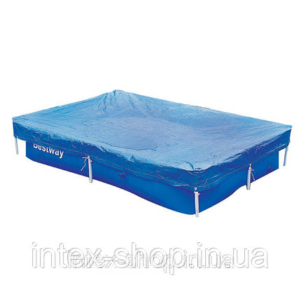 Чехол защитный для бассейна прямоугольного Bestway 58106 300 х 201 см , фото 2