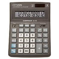 Калькулятор Citizen Correct D-312 12 разрядный
