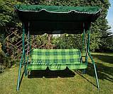 Садовые качели VIP для 3 человек, фото 2
