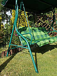 Садовые качели VIP для 3 человек, фото 7