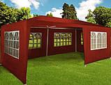 Садовий павільйон 3 х 6 м Червоний, фото 2
