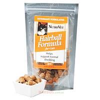 Hairball выведение шерсти витаминный комплекс для шерсти котов, таблетки (Нутри-Вет) Nutri-Vet