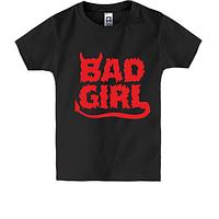 Детская футболка Bad girl