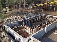 Монолитные работы по строительству бассейна