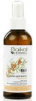 Питательное масло для волос Baikal Herbals для сухих и окрашенных волос, естественный блеск,питание RBA /04-23