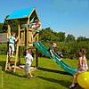 Jungle Gym Детский игровой комплекс угловой и горка пластиковая своими руками