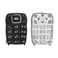 Клавиатура для мобильного телефона Nokia 6131, черная, русская