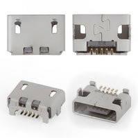 Коннектор зарядки для мобильных телефонов Lenovo K900, K910 Vibe Z, 5 pin, micro-USB тип-B