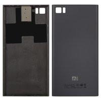 Задняя крышка батареи для мобильного телефона Xiaomi Mi3, черная, TD-S