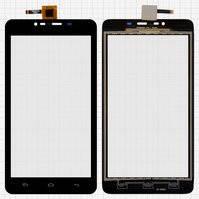 Сенсорный экран для мобильного телефона Fly IQ4601 Era Style 2, черный, #ZHT05M06001-FPC-1