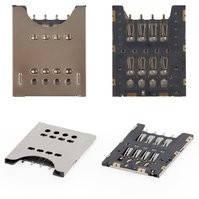 Коннектор SIM-карты для мобильных телефонов Sony Ericsson MK16, ST18i; Sony MT27i Xperia Sola, ST26i Xperia J