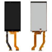 Дисплей для мобильного телефона HTC One E9, черный, с сенсорным экраном