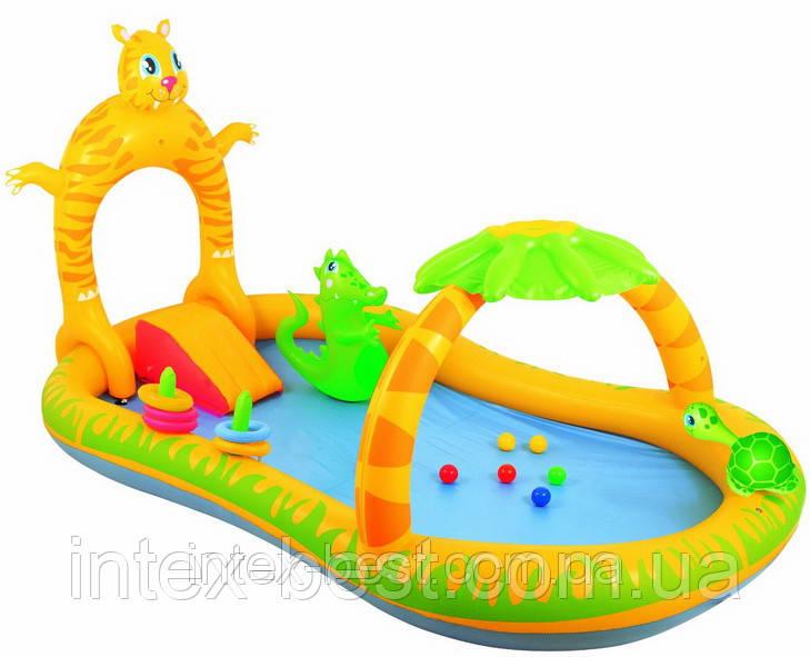 Детский надувной центр - бассейн BestWay 53030