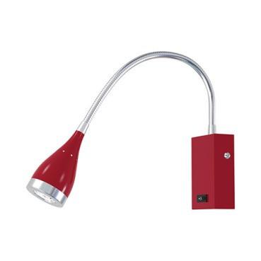 Светодиодное настенное бра Horoz HL003L 3W красное код.57612