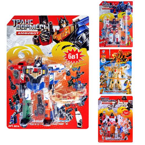 Трансформери JT 8006-8014-8019-8073 лист, 26 см