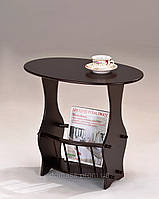 Столик кофейный с подставкой для журналов