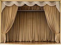 Оформление сцены тканью | Как выбрать театральный занавес