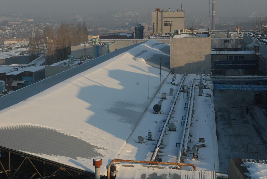 Строительство склада-ангара