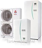 Тепловой насос Mitsubishi Electric Zubadan Ecodan (11.2 кВт) PUHZ-SHW112VHA\ ERSC-VM2B, фото 1