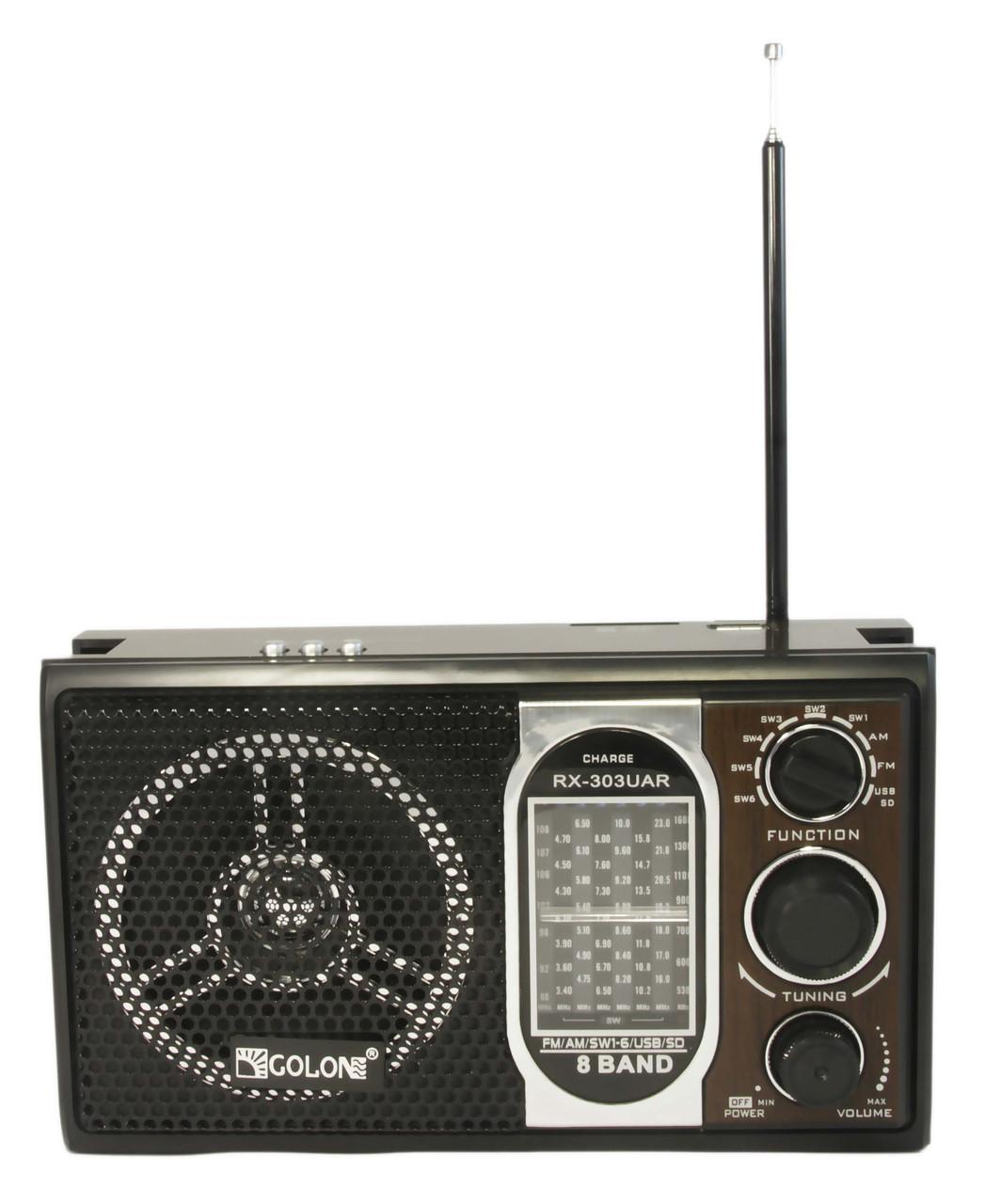 Радиоприемник Golon RX-303UR