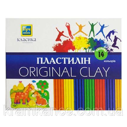 "Пластилин Луч Украина 14цв. ""Классика"" Ц259022у, фото 2"