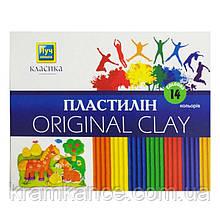 "Пластилин Луч Украина 14цв. ""Классика"" Ц259022у"