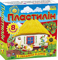 "Пластилин Мицар 8цв ""Моя Країна"" Ц259015у"