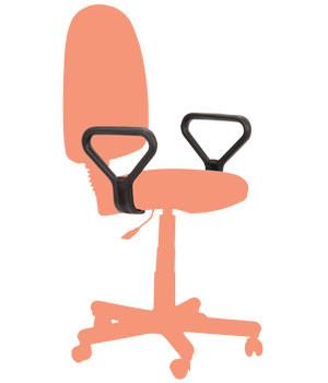 Кресло Престиж Люкс LB/АМФ подлокотники номер -7 Дизайн №1 Гонки.