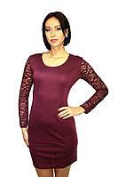 Вечернее платье, цвет - марсала, фото 1