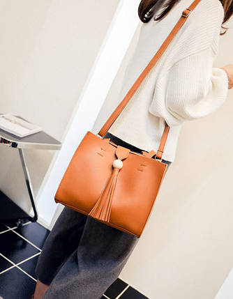 Роскошные деловые сумки с кисточкой, фото 2