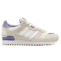 Женские кроссовки Adidas ZX 700 White Purple