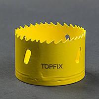 Коронка биметаллическая 102 мм . TOPFIX K-BI-102C. Киев.