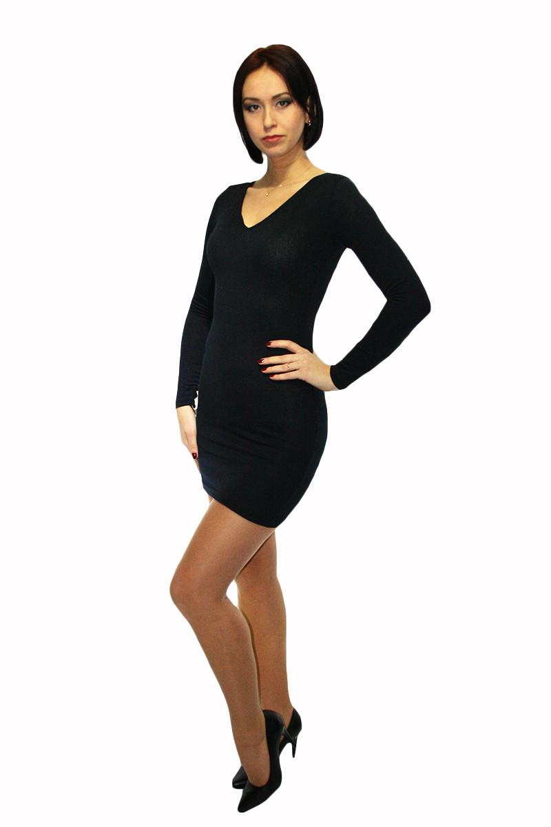 Платье Oscar Fur ПТ-1 Черный