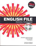 Учебник по английскому языку English File 3rd Edition Elementary Student's Book and iTutor DVD