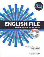 Учебник по английскому языку English File 3rd Edition Pre-Intermediate Student's Book and iTutor DVD
