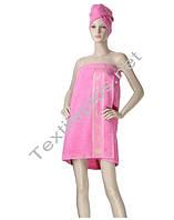Набор для сауны розовый Merzuka