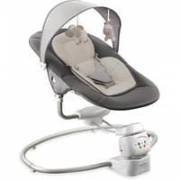 Детское кресло-качалка Alexis-Babymix BY002  dark grey