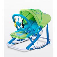 Детское кресло-качалка Caretero Aqua green