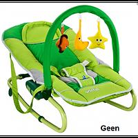 Детское кресло-качалка Caretero Astral  green