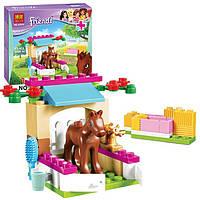 """Детский конструктор Bela Friends 10533 """"Жеребенок"""" (аналог LEGO Friends 41089), 43 дет"""